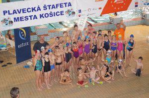 Zúčastnili sme Plaveckej štafety 2014