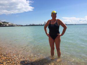 Po preplávaní LA MANCHE